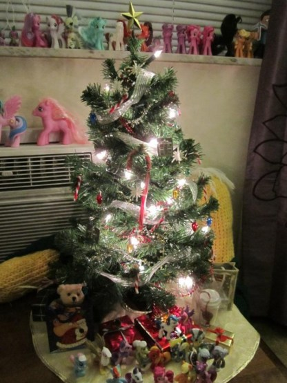 Alex's 2012 Christmas tree