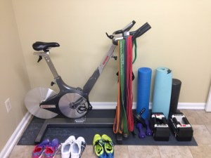 Coach & Mrs. Slezak's Home Gym