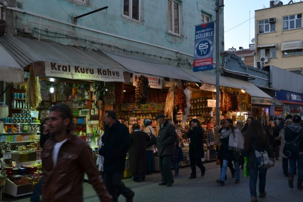 Shop in the centre of Eskiehir, Turkey