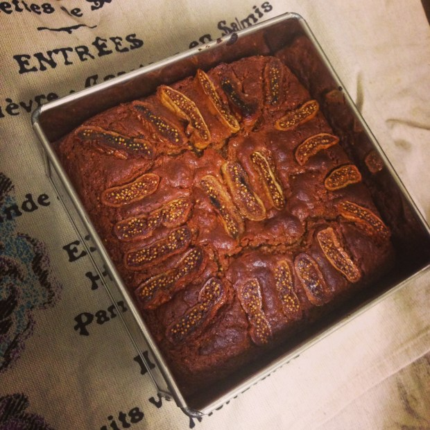 spiced fig and ginger cake 2