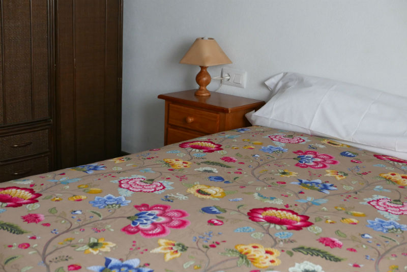 Dormitorio matromonio casa rural