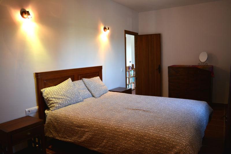 Dormitorio principal Villa Madrigueras Casa Rural