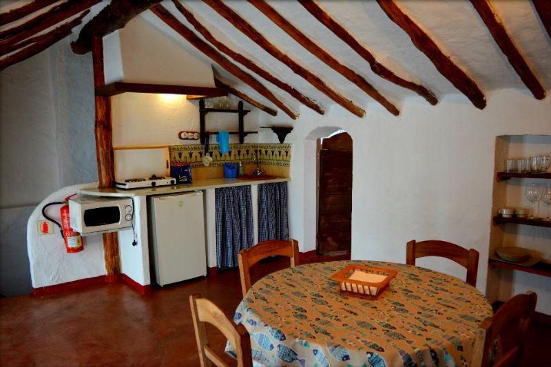 Interior Carrihuela Azul Casa Rural