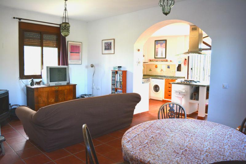 Sala de estar y comedor Villa Madrigueras Casa Rural