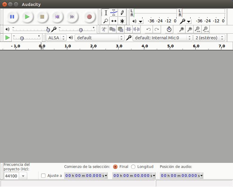 Audacity - Linux 10 programas imprescindibles [2015]
