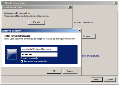 Connect to the GAS Dropbox Server from Windows | My Website