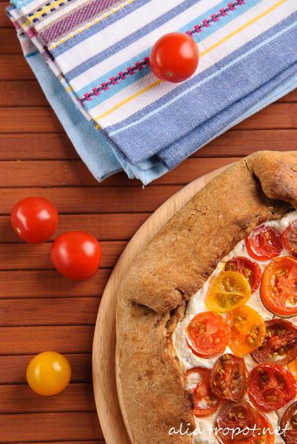 DSC 0064 2 Галет с рикота и домати