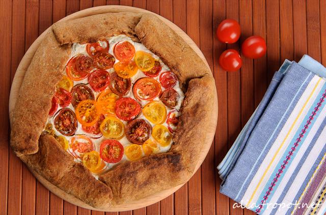 DSC 0069 3 Галет с рикота и домати