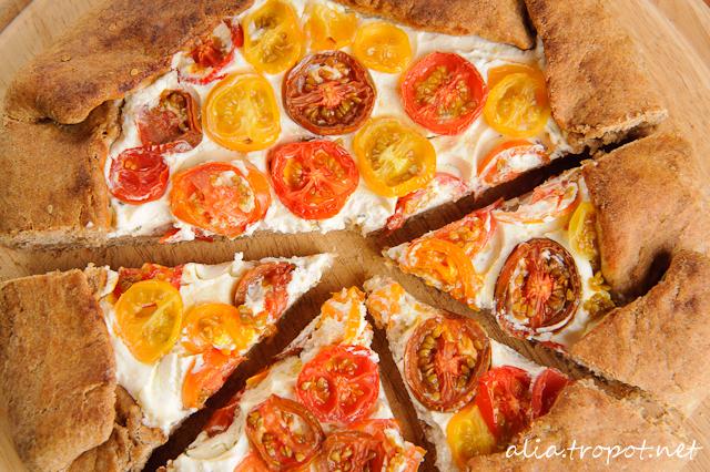 DSC 6314 Галет с рикота и домати