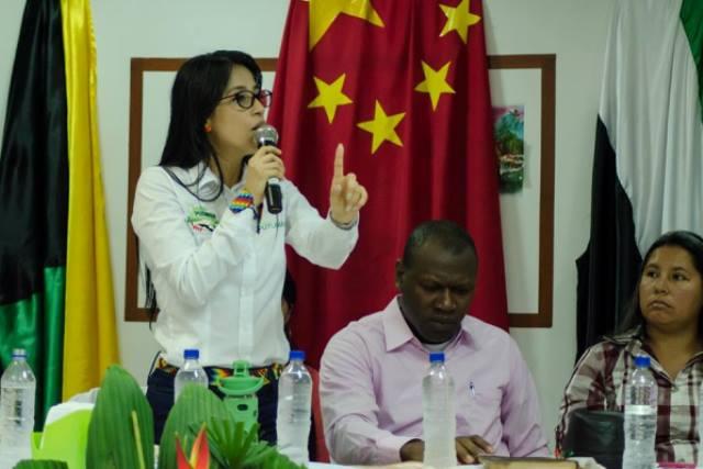 Sorrel Aroca, Gobernadora del Putumayo