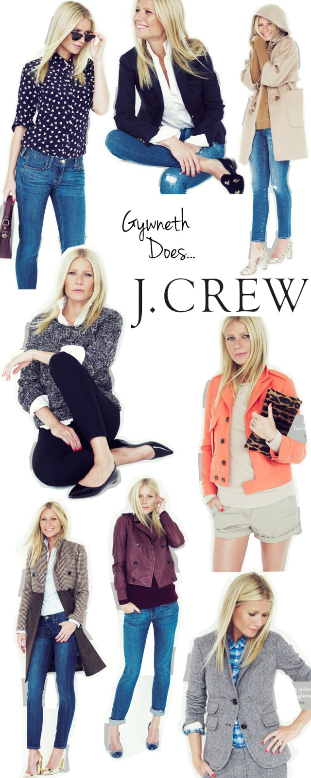 Gwyneth Paltrow for J.Crew
