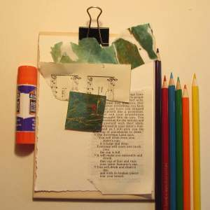 Mixed Media Art Kit Pocket Purse