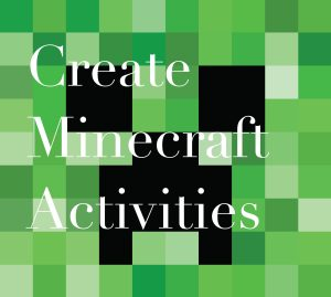 Minecraft Creeper Invitation Blank