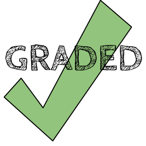mark as graded