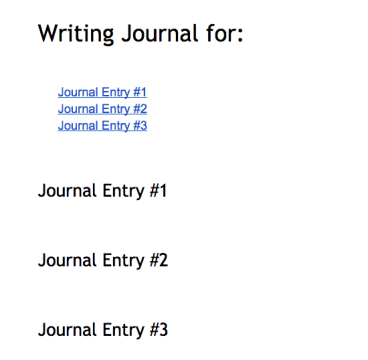 Refreshed table of contents.