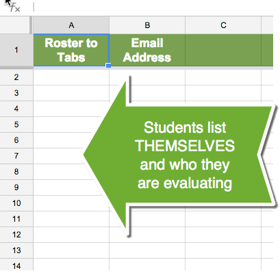 Students list themselves