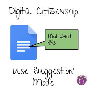 Use suggestion mode