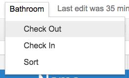 checkout sheet template