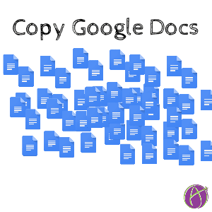 A lot of copies of google docs