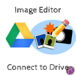 image editor connect to google drive