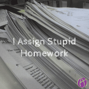 stupid homework