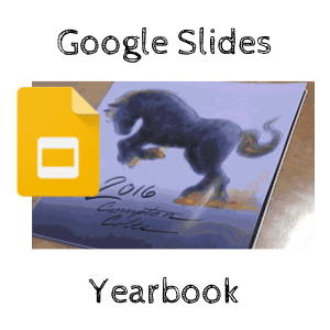google slides yearbook by jennifer scott