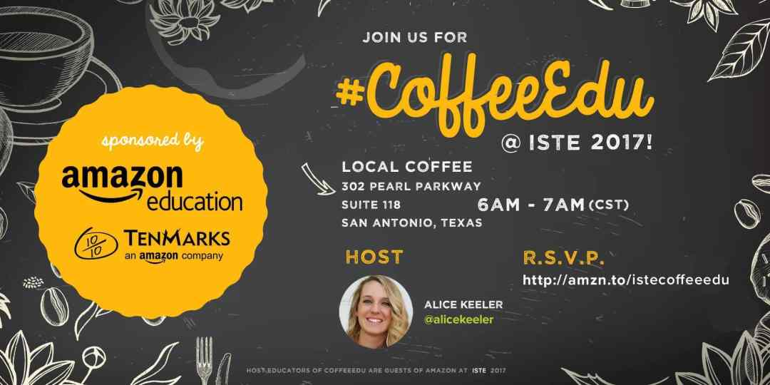 coffeeEDU at ISTE