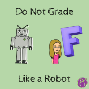 grade like a robot