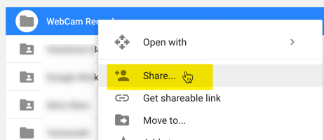 how to share google drive folder to facebook