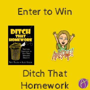 Giveaway: Ditch That Homework