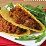 Lentil Tacos #WeekdaySupper