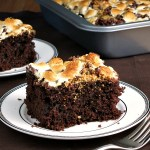 S'mores Snack Cake #SundaySupper