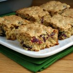 Oatmeal Cranberry Snack Bars