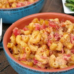 Tomato Macaroni and Cheese | alidaskitchen.com