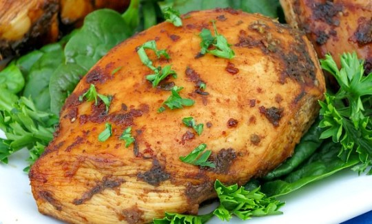 Grilled Honey Balsamic Chicken #SundaySupper