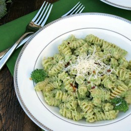 Broccoli Pesto Pasta | alidaskitchen.com