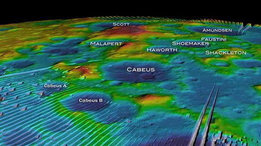 NASA: Water Found in Moon Crater