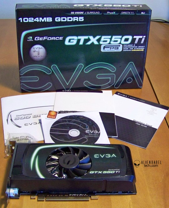 BoxandContents EVGAs GTX 550 Ti free performance evaluation