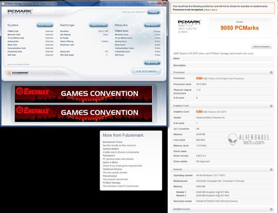 PCMark AMDs FX 8150 vs. Core i7 & Phenom II   Bulldozer Arrives!