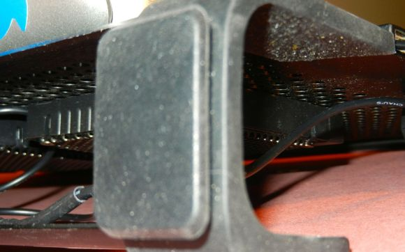 A Close-Up of the Cable Management Loops