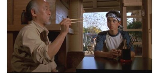 """Man who catch fly with chopstick accomplish anything."" – Miyagi, ""The Karate Kid,"" Columbia Pictures, 1984"