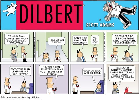 Dilbert strikes again