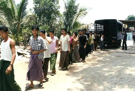 Deportation of migrants from Mekong - Photograph: Mekong Migration Network