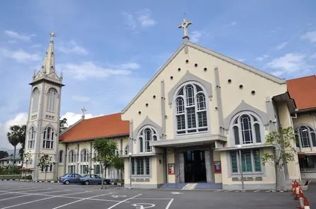 The A church in Ipoh - Photograph: penangnewspaper.com