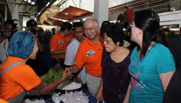 Pie in the sky: Najib makes big promises