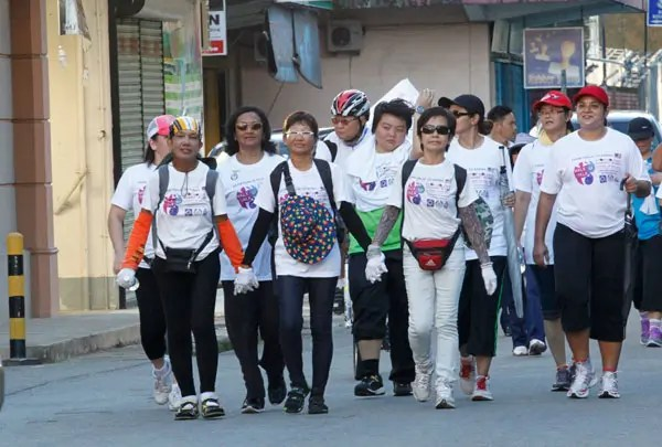 Activists walk from Perlis to Sabah to campaign against violence to women and girls