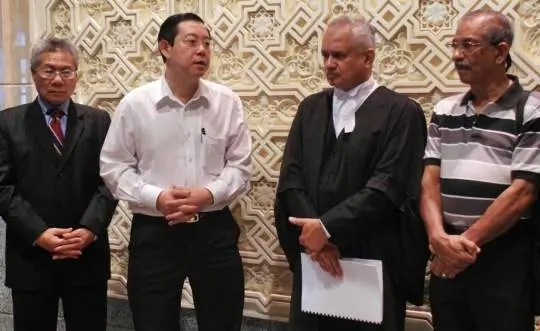 Rama (right) - Photograph: The Malaysian Insider
