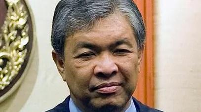 Home Minister Zahid Hamidi  - Photograph: Wikipedia