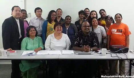 human rights coalition in Malaysia