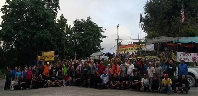Baram Dam permanent blockade